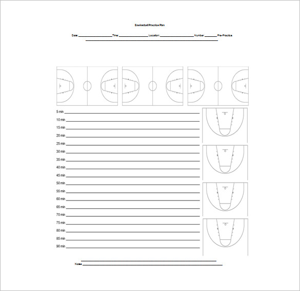 Basketball Practice Plan Template   3 Free Word, Pdf, Excel