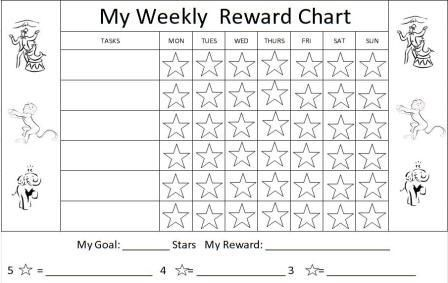 Free Behavior Charts, Printable Certificates for Kids