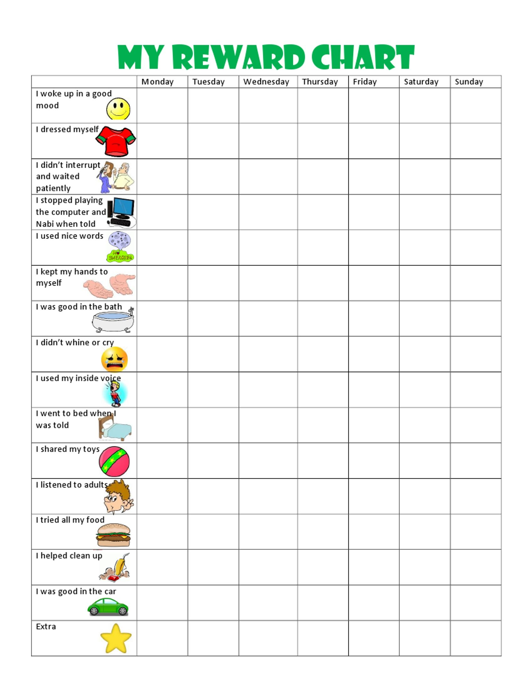 Kids Behavior chart This Behavior Chart Changed Our Family and
