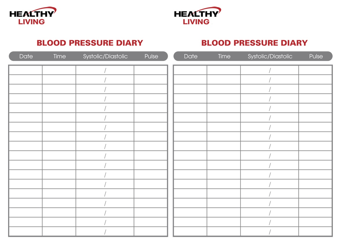 19 Blood Pressure Chart Templates Easy to Use for Free