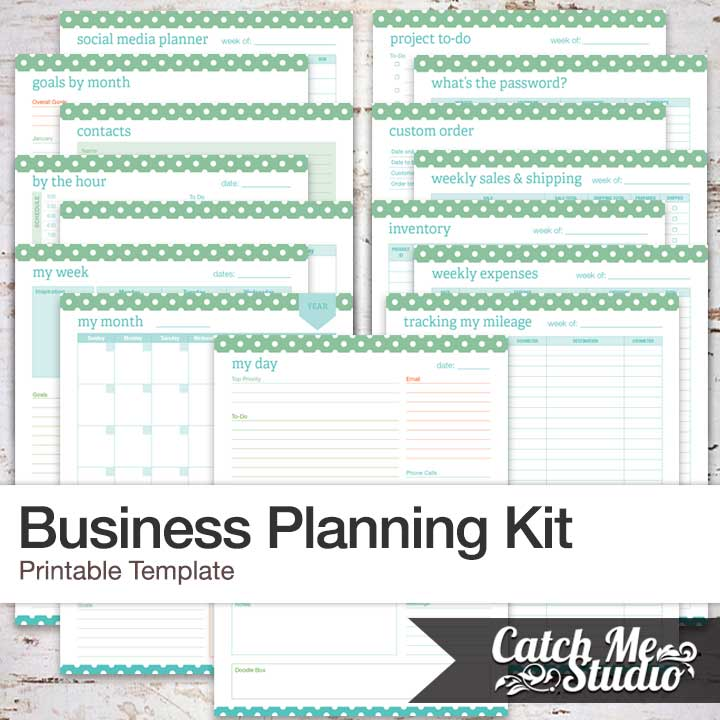 Printable Business Planner