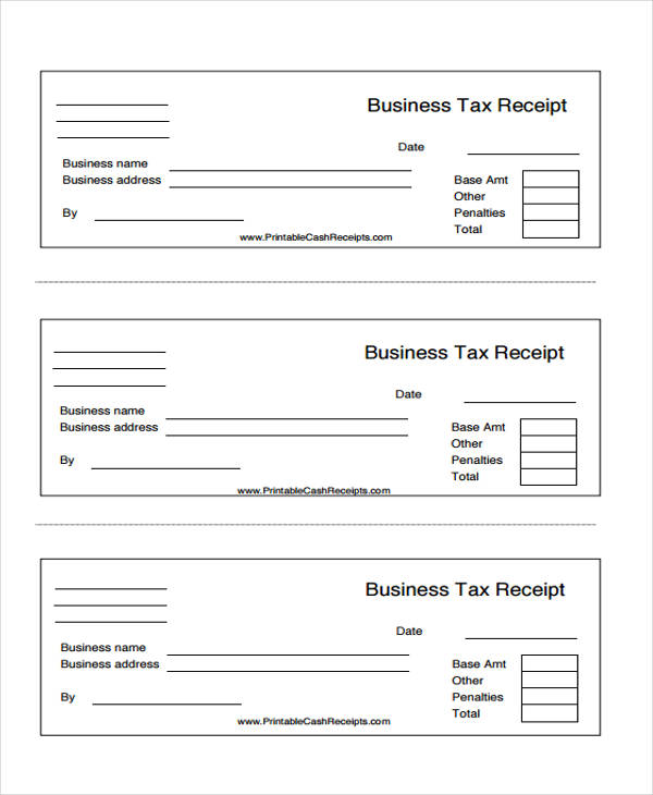 This is a graphic of Handy Printable Receipt Template