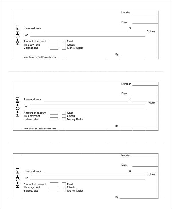 Cash Receipt Forms Download Printable Cash Receipt Template Cash