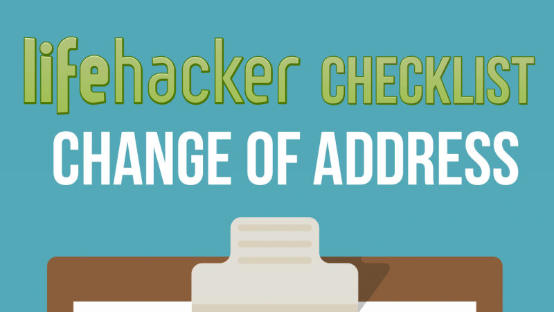 Change of Address Checklist | Moving | Pinterest | Home, House and