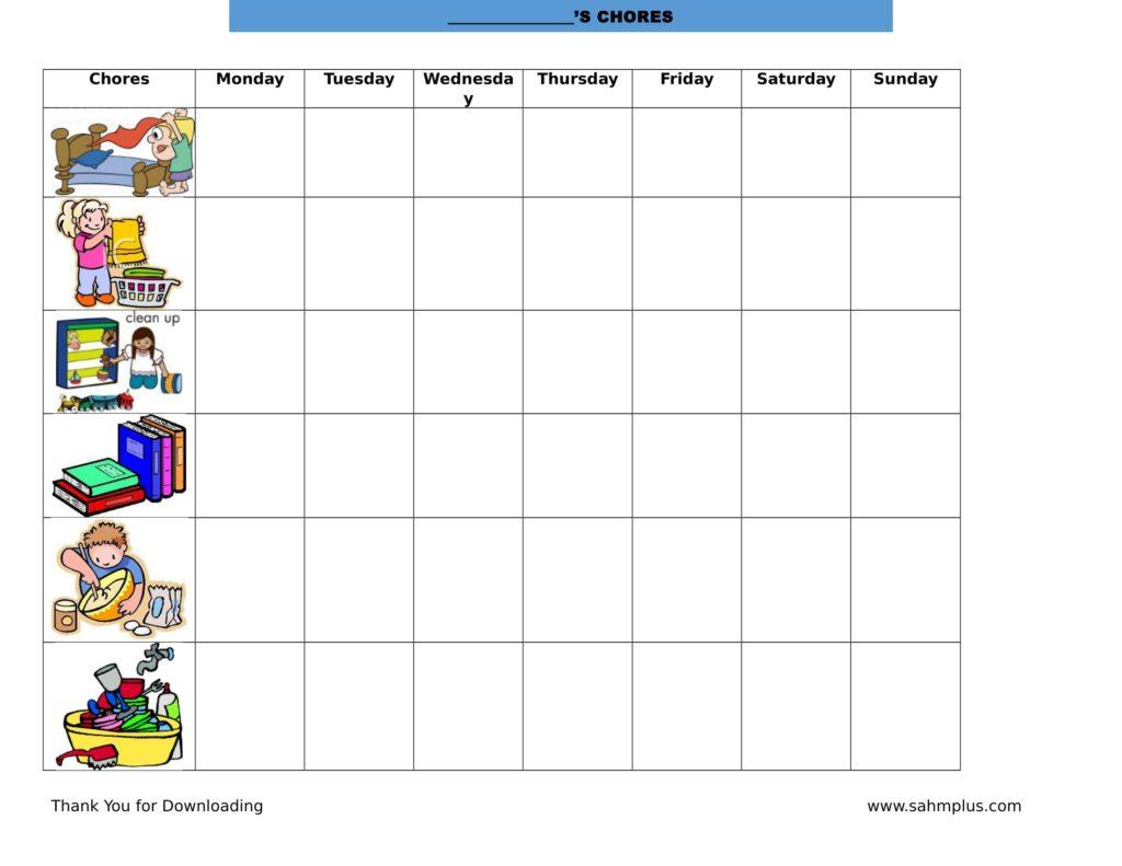 toddler chore chart   Ibov.jonathandedecker.com