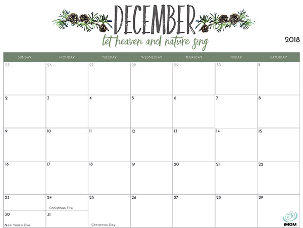 Printable Calendar Monthly Black Nice 18 Month Calendar Template