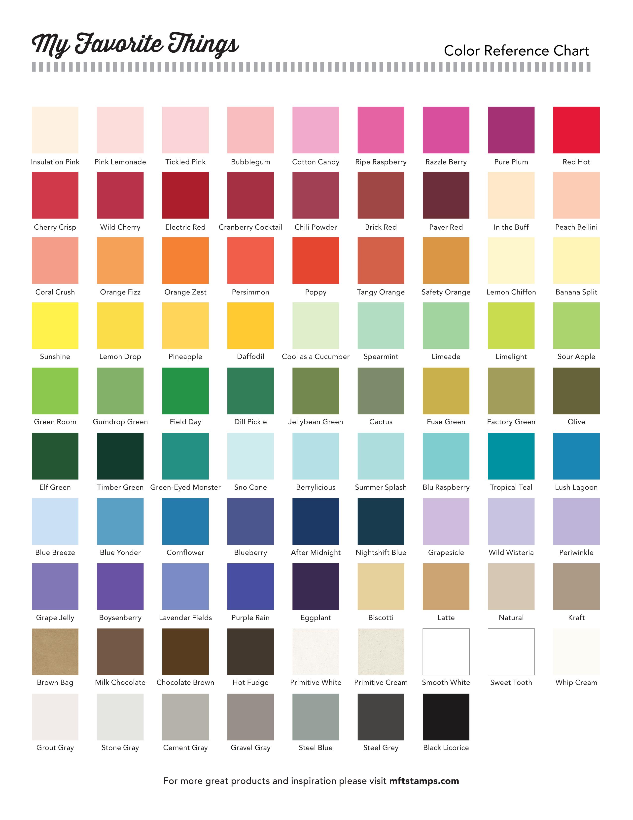color charts   Erkal.jonathandedecker.com