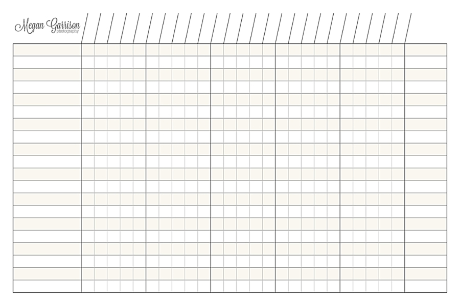 picture regarding Printable Charts referred to as Printable Column Charts store contemporary