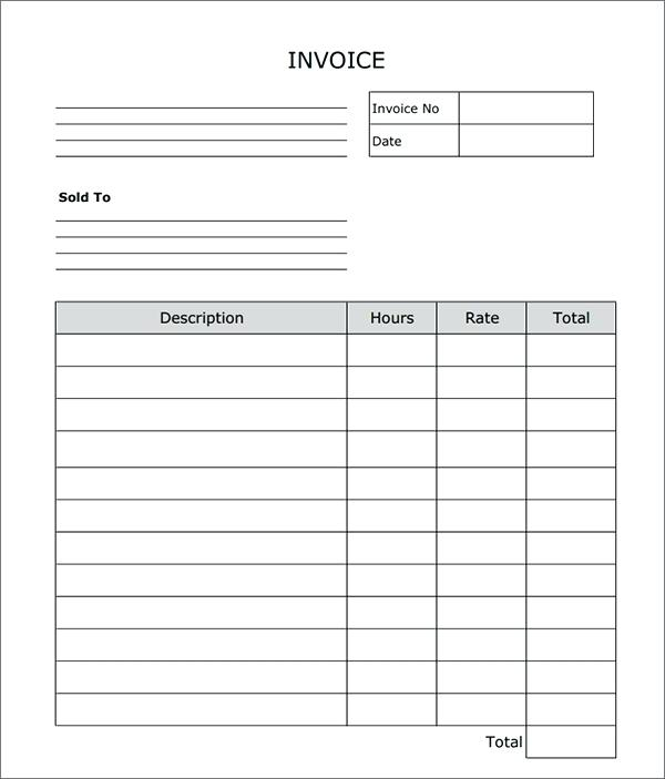 20+ Sample Contractor Invoices | Sample Templates