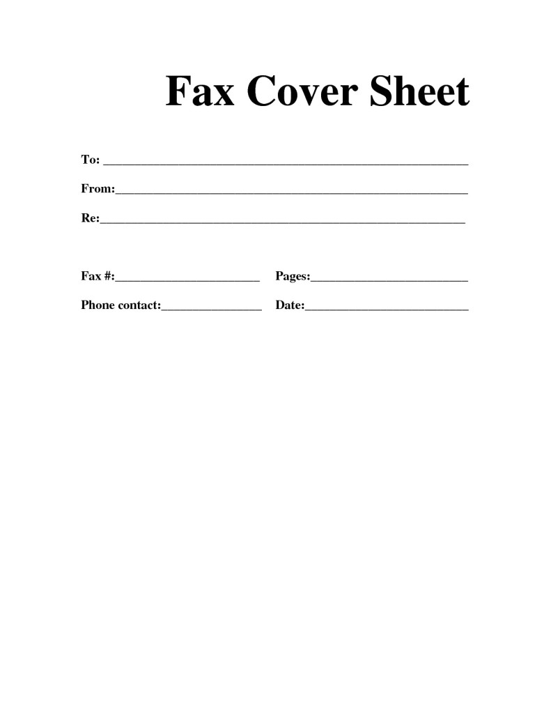 free printable fax cover letter business stuff creating the