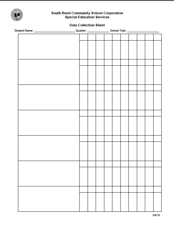 IEP Forms