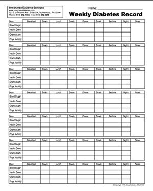 blood sugar chart template   Ibov.jonathandedecker.com