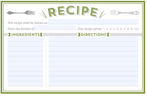 recipe card template   Demire.agdiffusion.com