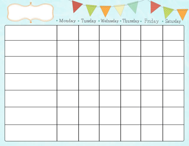 Free Printable Chore Charts for Kids | Fab N' Free