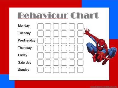 Behaviour Charts | Free printable charts