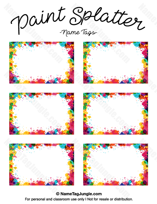 Pin by Muse Printables on Name Tags at NameTagJungle.