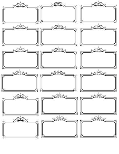 name tag template | Invites| Illustrations | Pinterest | Tag