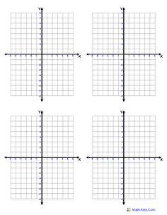 Printable Numbered Grid Paper, 10 lines per inch