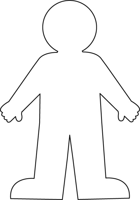 Free Blank Person Template, Download Free Clip Art, Free Clip Art