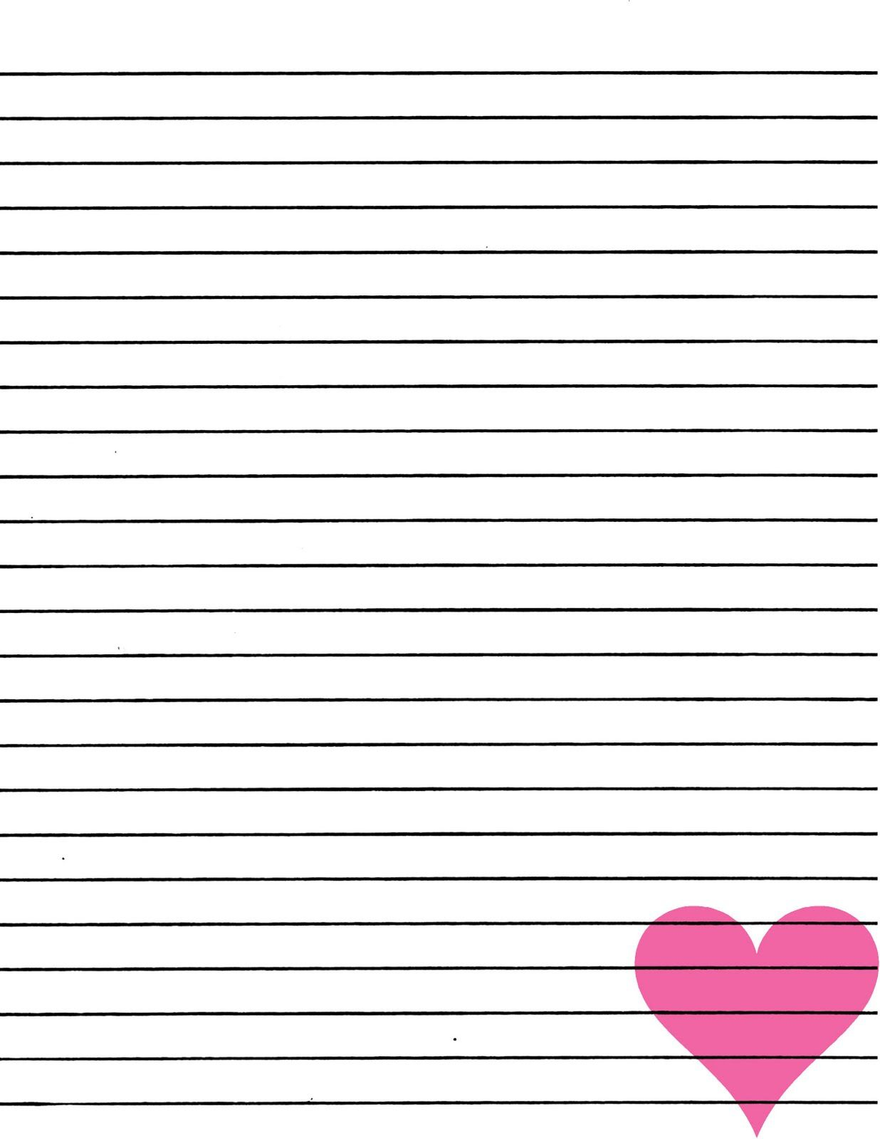 image relating to Printable Paper With Lines named Printable Paper Protected retail store clean