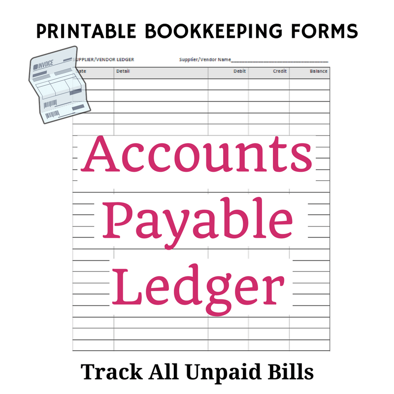 free printable bookkeeping sheets | general ledger Free Office