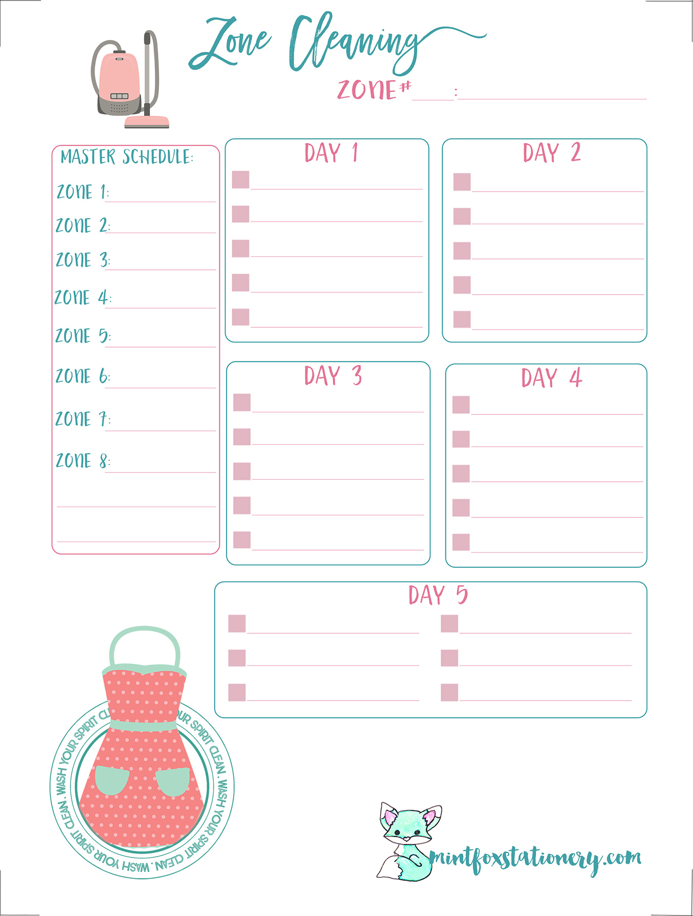 Divine image in free mini happy planner printable inserts