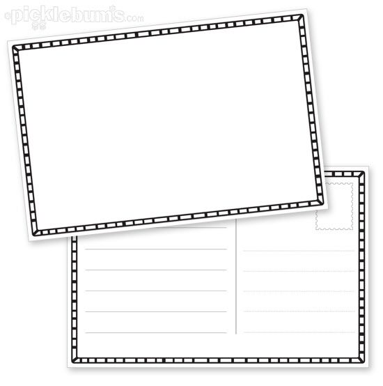 Standard Postcard Template Awesome Postcard Template Free Download