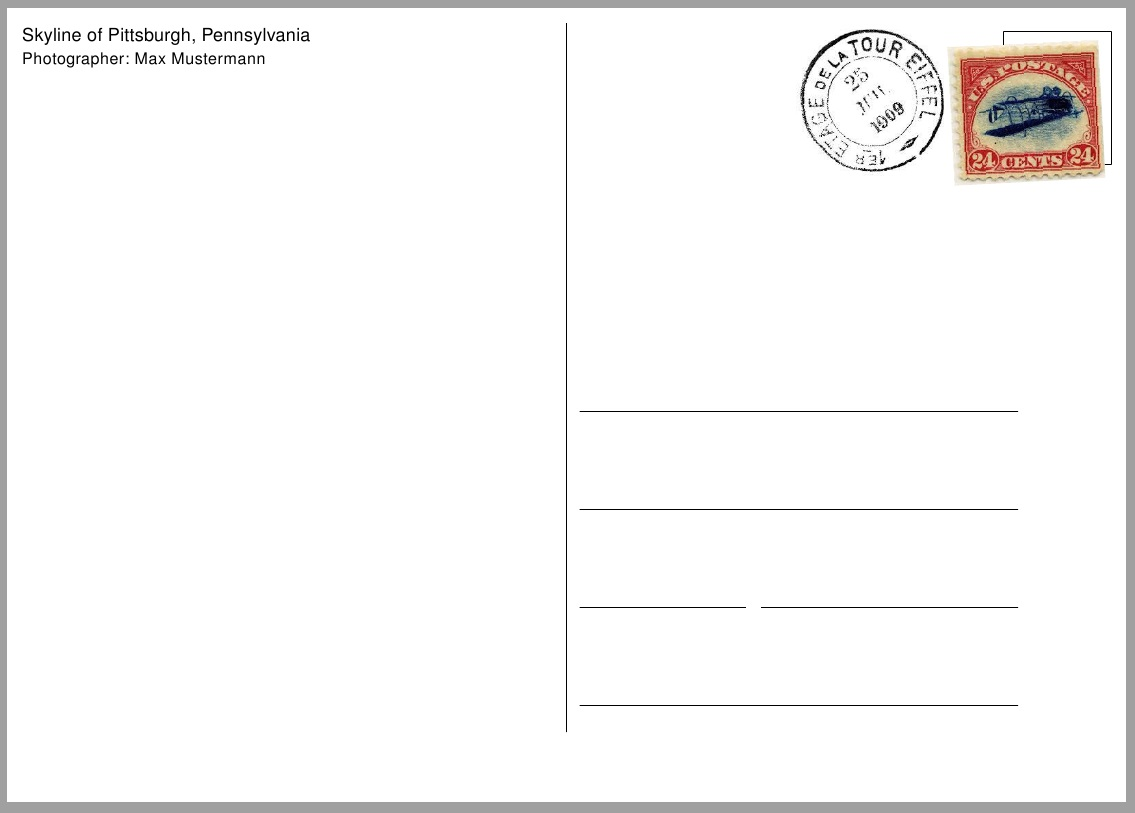 Postcard Invitations Templates