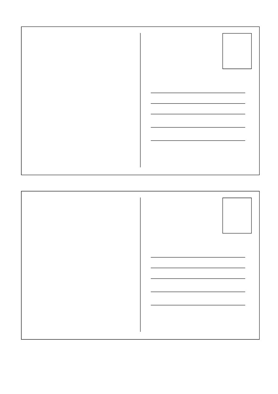 40+ Great Postcard Templates & Designs [Word + PDF]   Template Lab