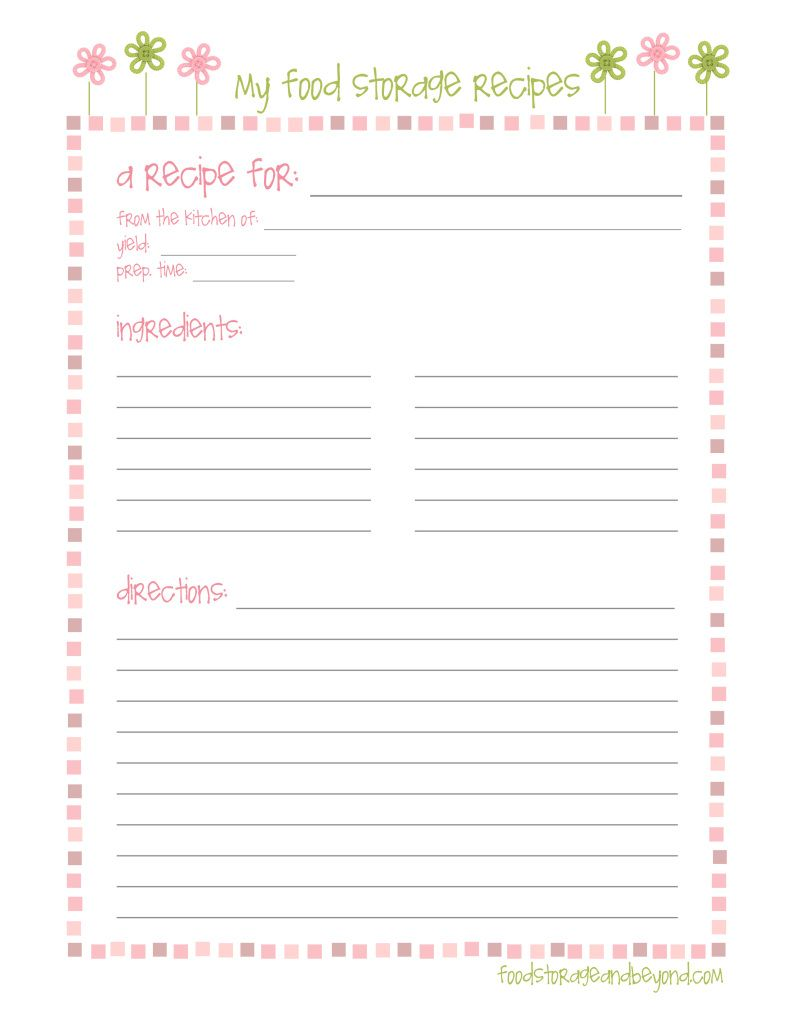 FSB full page recipe card … | Make to sell | Pinte…