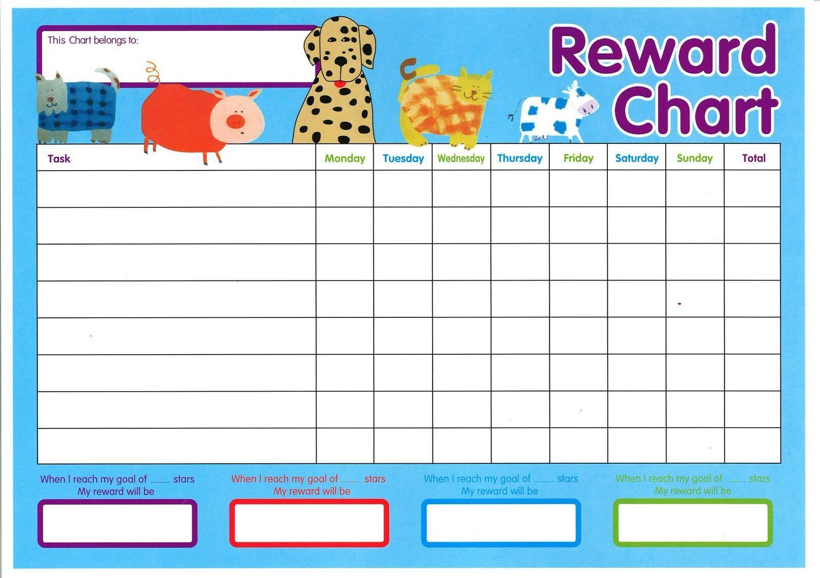 child s reward chart   Demire.agdiffusion.com
