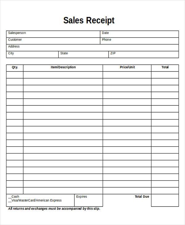 photo regarding Free Printable Sales Receipt identify Printable Sale Receipts Free of charge keep clean