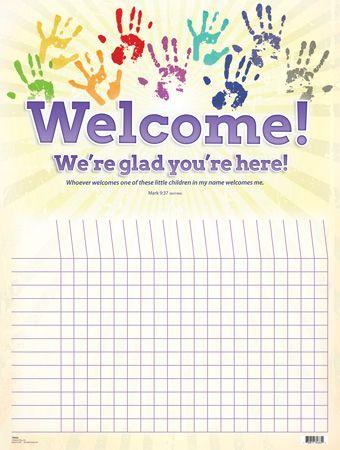 Free Printable Sunday School Attendance Chart cakepins.