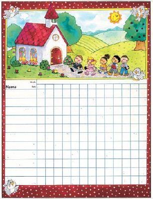 Sunday School Attendance Chart Printable | Attendance Chart