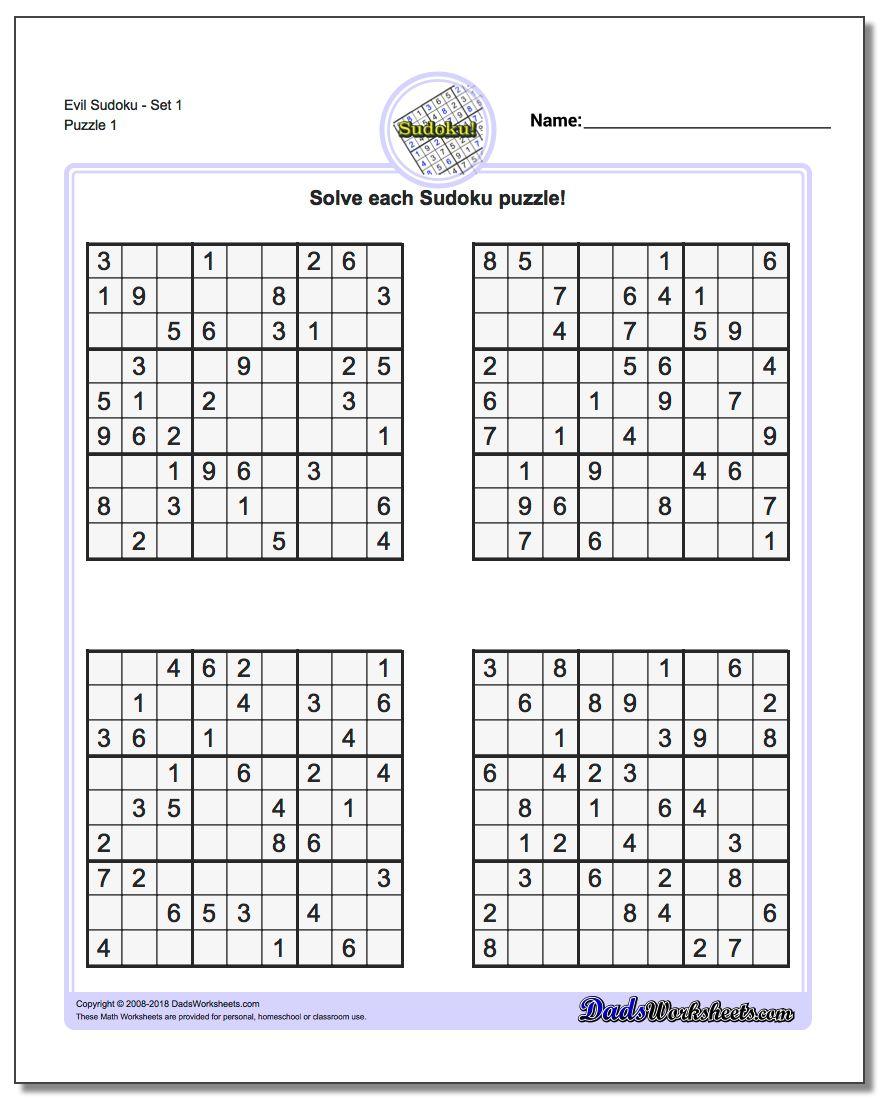 image about Sudoku Printable Hard identify Puzzle Sudoku Printable store fresh new