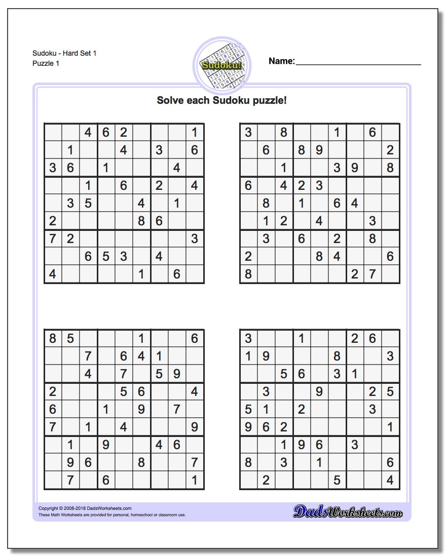 photograph relating to Difficult Sudoku Printable named Puzzle Sudoku Printable keep contemporary