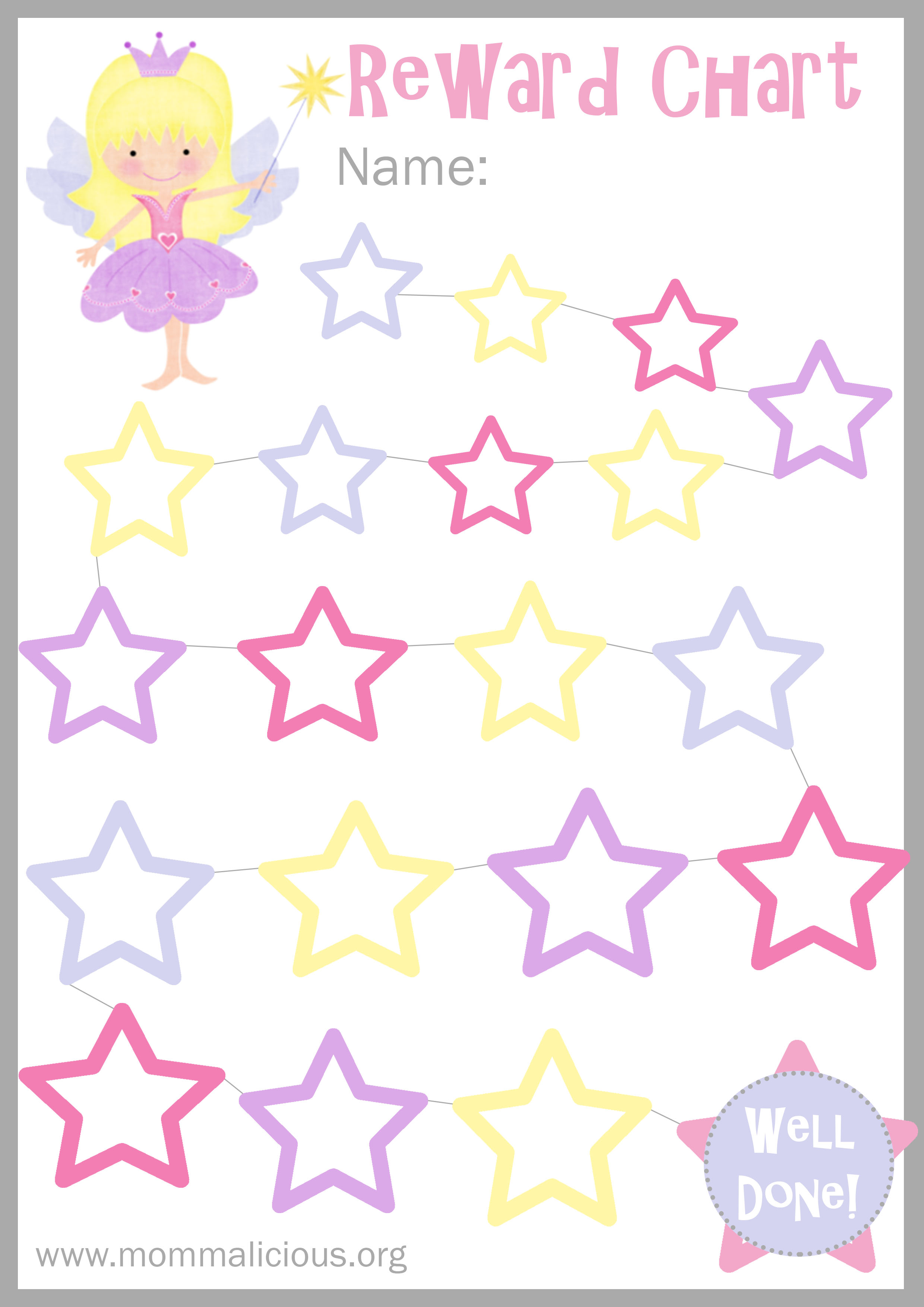 Reward Charts   Free Printable | Parenting Blog & Mom Forum