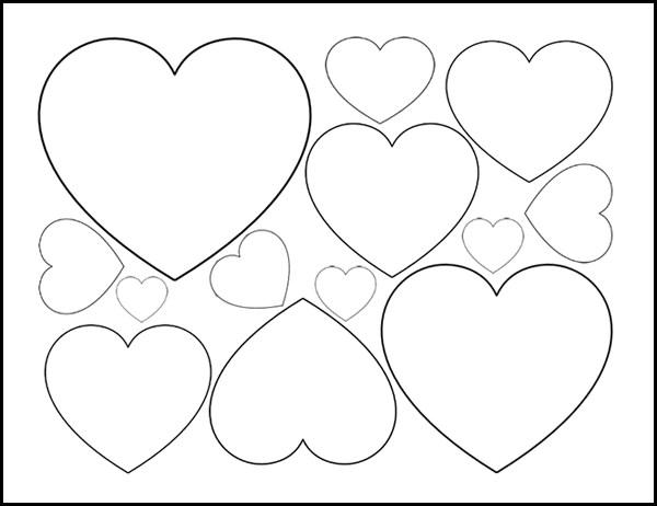 printable heart template   Demire.agdiffusion.com