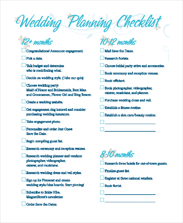 wedding checklist pdf   Demire.agdiffusion.com